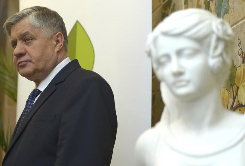Minister rolnictwa i rozwoju wsi Krzysztof Jurgiel /Darek Delmanowicz /PAP