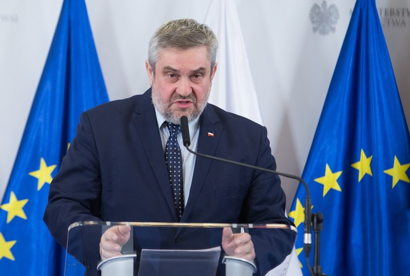 Minister rolnictwa Jan Krzysztof Ardanowski /Tomasz Jastrzebowski/REPORTER /Reporter