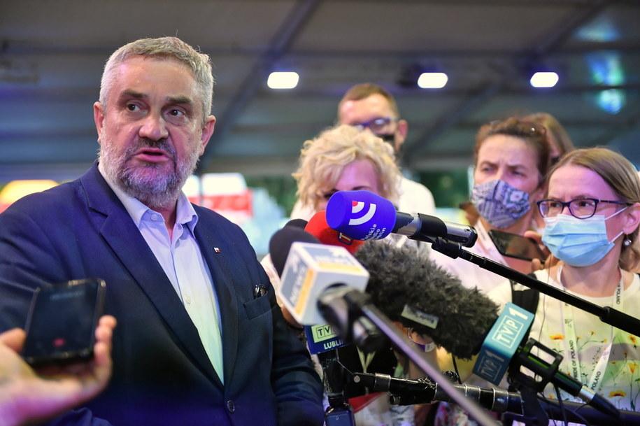 Minister rolnictwa Jan Krzysztof Ardanowski /Wojtek Jargilo /PAP