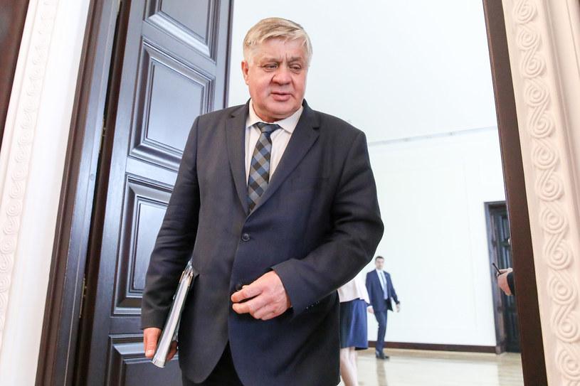 Minister rolnictwa Krzysztof Jurgiel /Andrzej Iwańczuk /Reporter