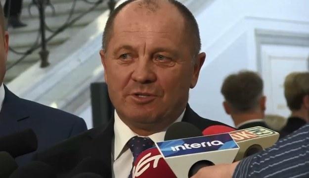 Minister rolnictwa Marek Sawicki /TV Interia