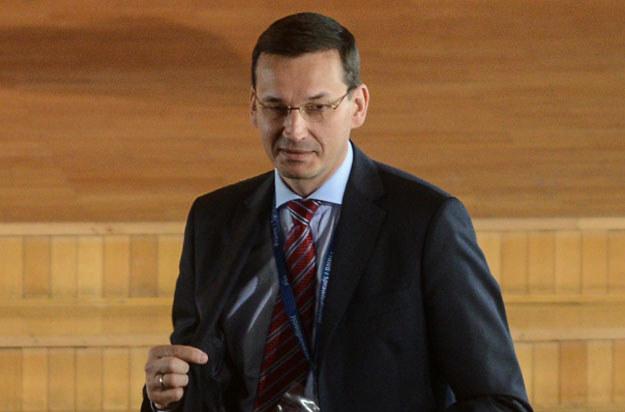 """Minister rozwoju i wicepremier Mateusz Morawiecki: """"Umowa jest dobra dla polskich firm"""" /PAP"""