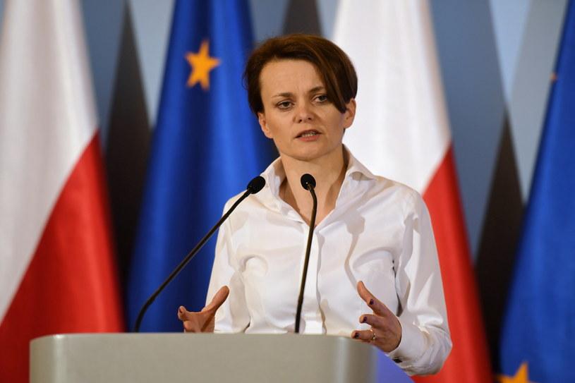 Minister rozwoju Jadwiga Emilewicz /Piotr Nowak /PAP