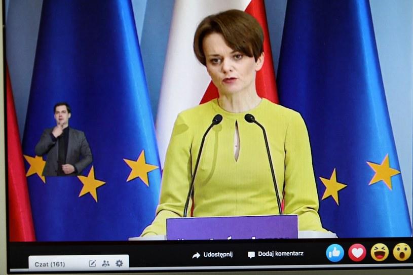Minister rozwoju Jadwiga Emilewicz /Rafał Guz /PAP