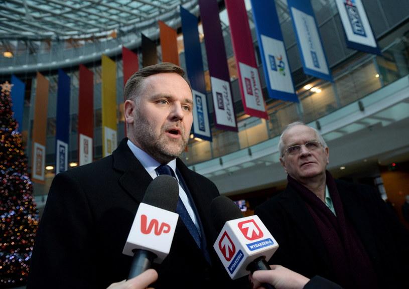 Minister skarbu Dawid Jackiewicz /Jacek Turczyk /PAP