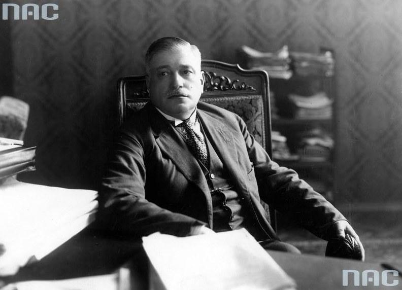 Minister skarbu Gabriel Czechowicz /Z archiwum Narodowego Archiwum Cyfrowego