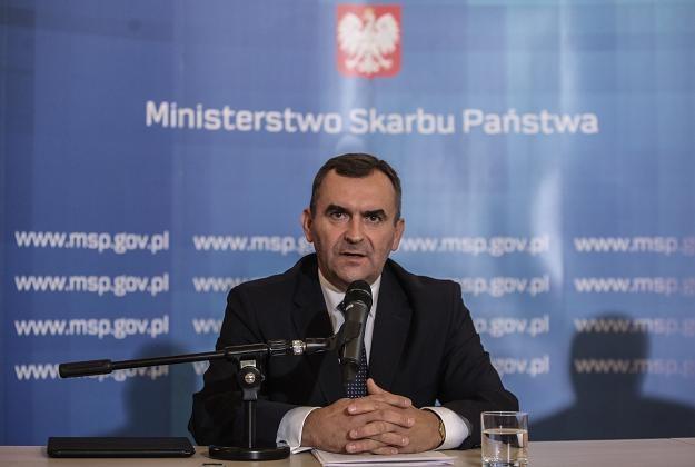 Minister skarbu Włodzimierz Karpiński /PAP
