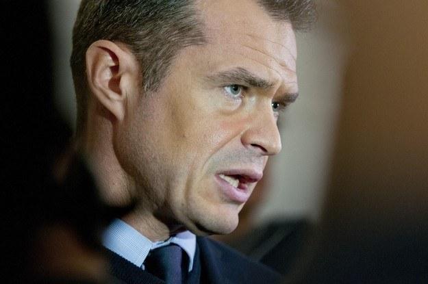 Minister Sławomir Nowak. /East News