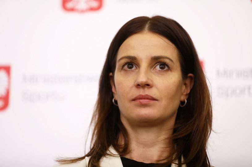 Minister sportu Danuta Dmowska-Andrzejuk /Rafał Guz /PAP