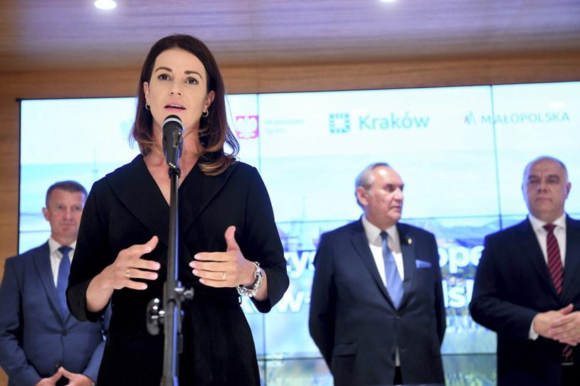 Minister sportu Danuta Dmowska-Andrzejuk /Piotr Nowak /PAP