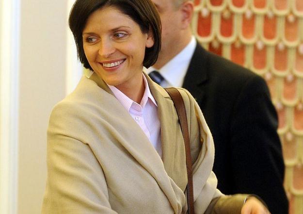 Minister sportu Joanna Mucha na posiedzeniu rządu, 16 października 2012 /East News