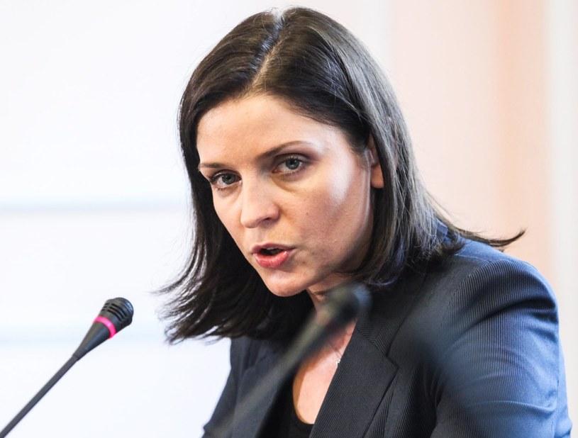 Minister sportu Joanna Mucha /Jakub Kamiński   /PAP