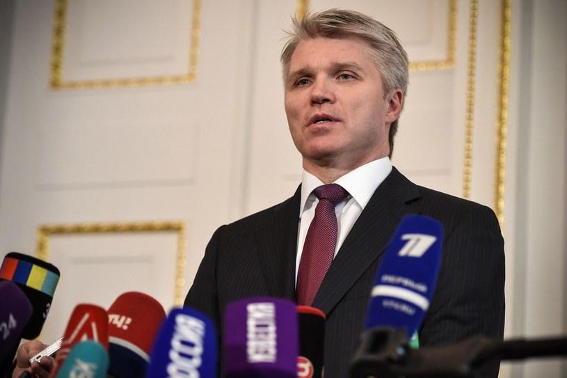 Minister sportu Rosji Paweł Kołobkow /AFP
