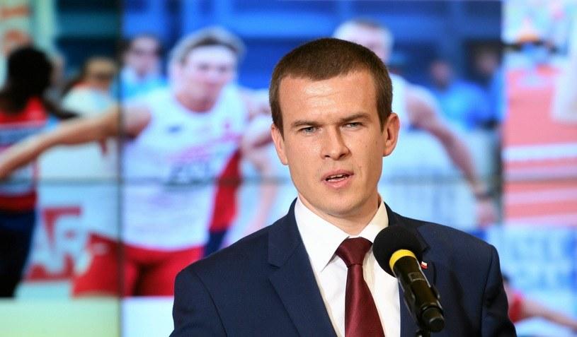 Minister sportu Witold Bańka /Kuba Atys /