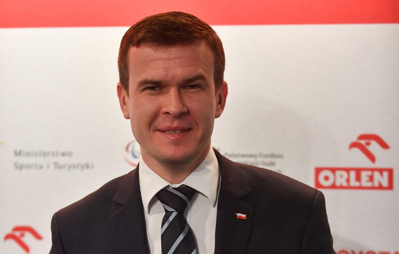 Minister sportu Witold Bańka /Bartłomiej  Zborowski /PAP