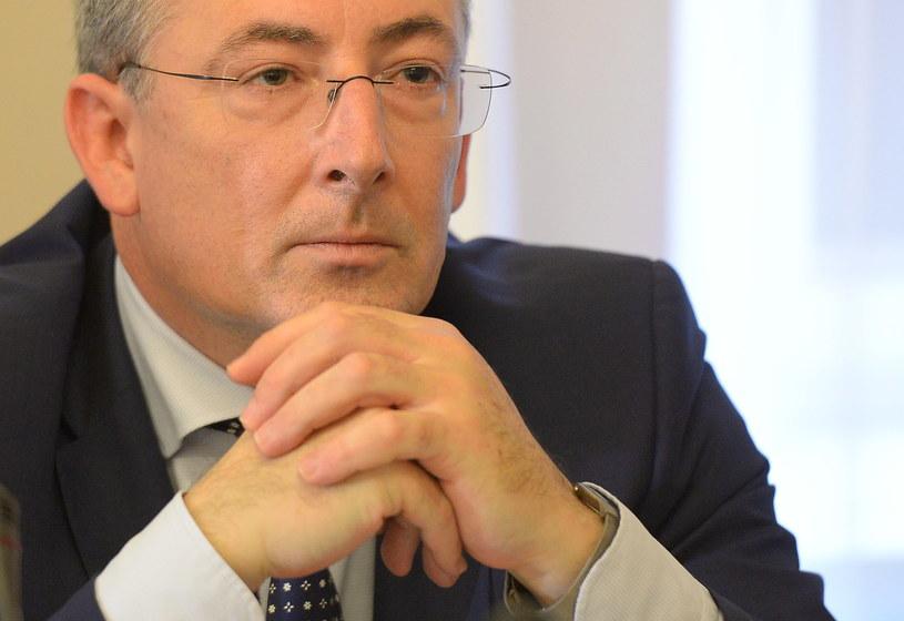 Minister spraw wewnętrznych Bartłomiej Sienkiewicz uczestniczy w posiedzeniu sejmowej komisji spraw wewnętrznych /Radek  Pietruszka /PAP