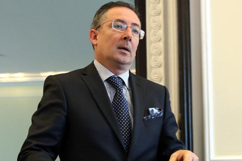 Minister spraw wewnętrznych Bartłomiej Sienkiewicz /Radek Pietruszka /PAP
