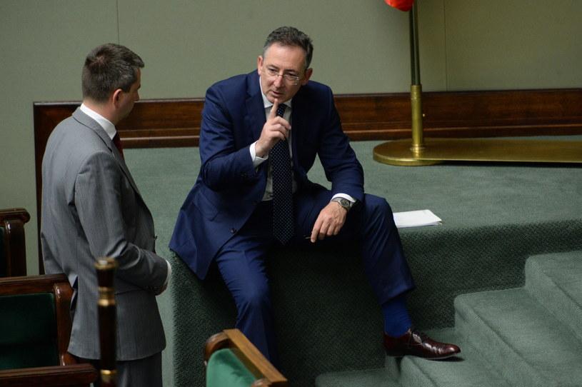 Minister spraw wewnętrznych Bartłomiej Sienkiewicz. /Jacek Turczyk /PAP
