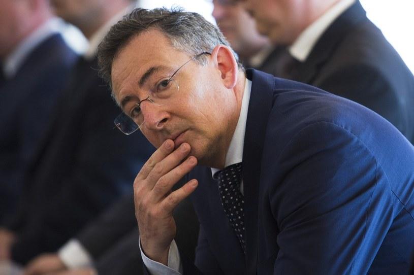 Minister spraw wewnętrznych Bartłomiej Sienkiewicz /Andrzej Hulimka  /Reporter