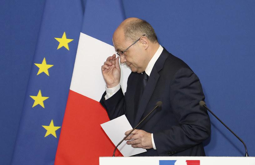 Minister spraw wewnętrznych Francji Bruno Le Roux podał się do dymisji /JACQUES DEMARTHON  /AFP