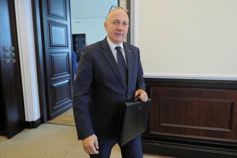 Minister spraw wewnętrznych i administracji Joachim Brudziński /Paweł Supernak /PAP