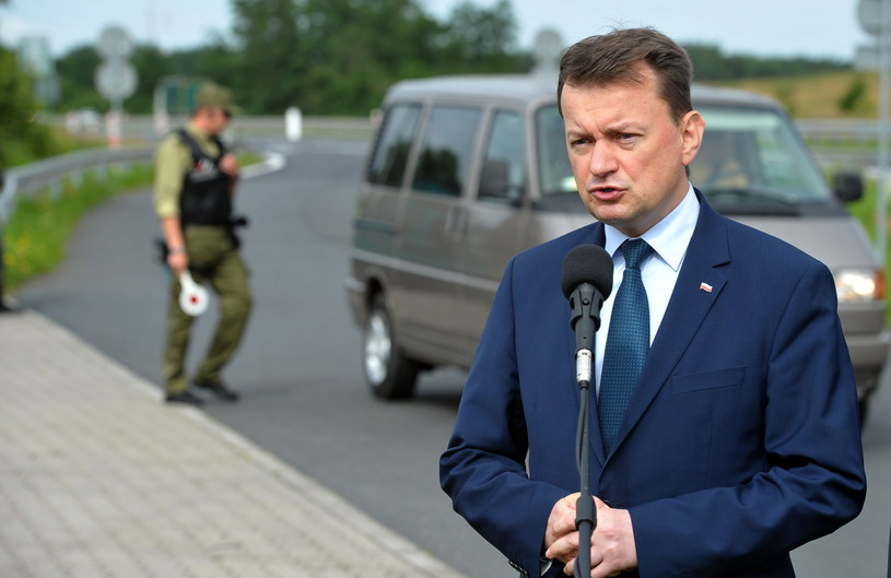 Minister spraw wewnętrznych i administracji Mariusz Błaszczak /Marcin Bielecki /PAP