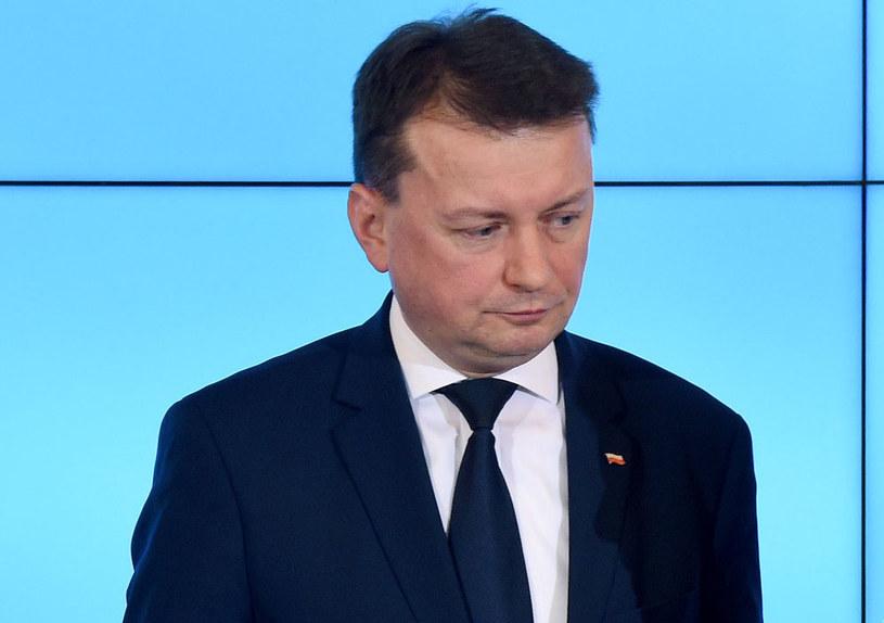 Minister spraw wewnętrznych i administracji Mariusz Błaszczak /Radek  Pietruszka /PAP