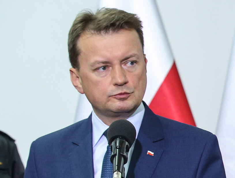 Minister spraw wewnętrznych i administracji Mariusz Błaszczak /Rafał Guz /PAP