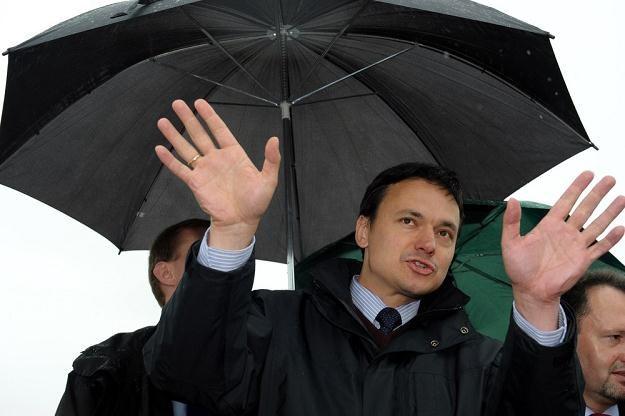Minister spraw wewnętrznych Jacek Cichocki szykowany jest na nowego szefa ABW? /fot. Ł. Szykulski /East News