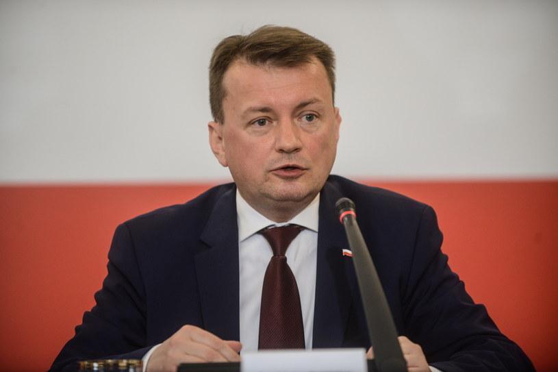 Minister spraw wewnętrznych Mariusz Błaszczak /Jakub Kamiński   /PAP
