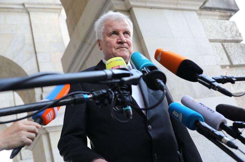 Minister spraw wewnętrznych Niemiec Horst Seehofer /OMER MESSINGER  /AFP