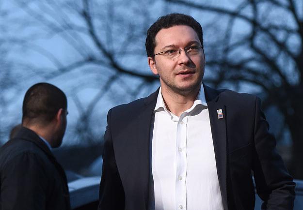 Minister spraw zagranicznych Bułgarii Danieł Mitow /AFP