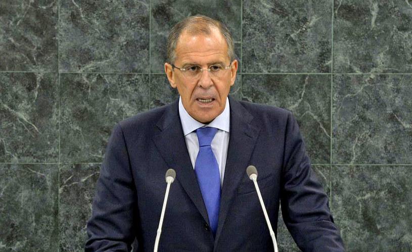 Minister spraw zagranicznych Federacji Rosyjskiej Siergiej Ławrow. /AFP