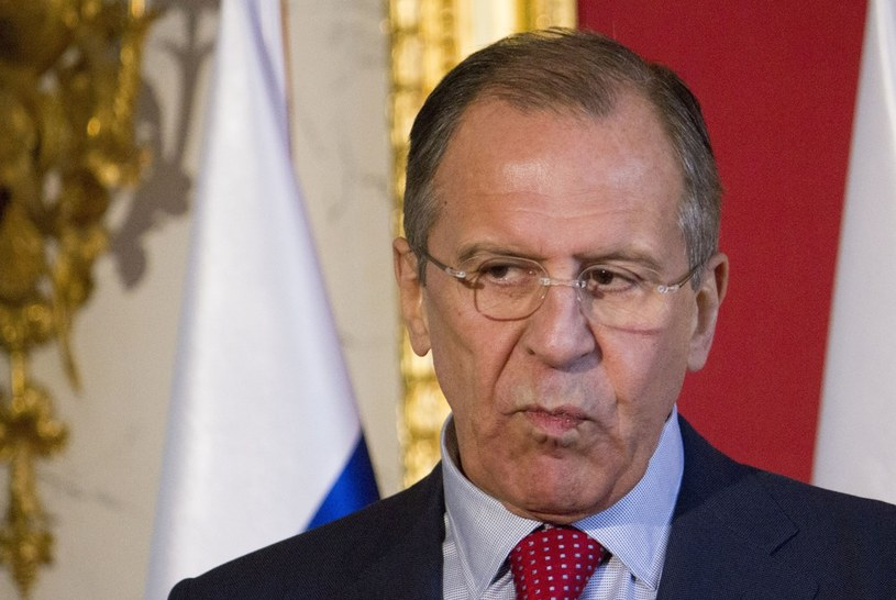 Minister spraw zagranicznych Federacji Rosyjskiej Siergiej Ławrow /KRYSTIAN DOBUSZYNSKI/REPORTER /East News