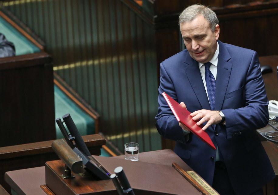 Minister spraw zagranicznych Grzegorz Schetyna /Rafał Guz /PAP