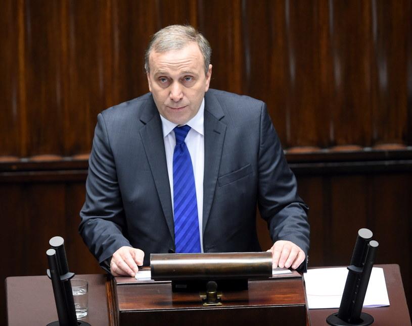 Minister spraw zagranicznych Grzegorz Schetyna /Radek Pietruszka /PAP