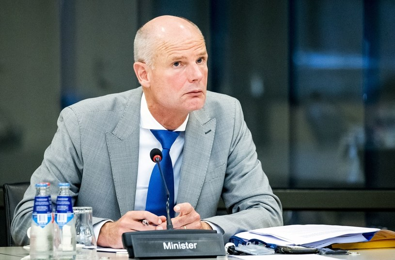 Minister spraw zagranicznych Holandii Stef Blok /AFP