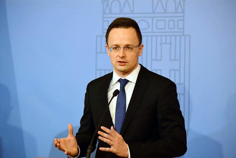 Minister spraw zagranicznych i handlu Węgier Peter Szijjarto /AFP /AFP