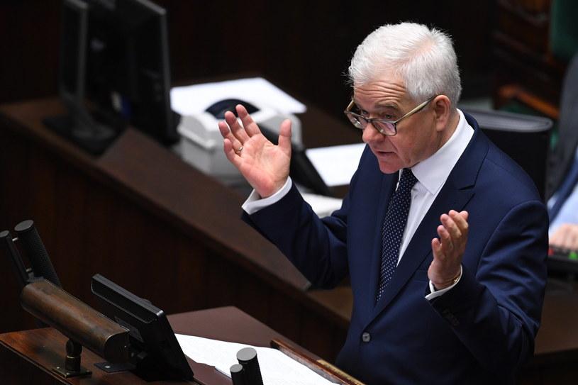 Minister spraw zagranicznych Jacek Czaputowicz /Radek Pietruszka /PAP