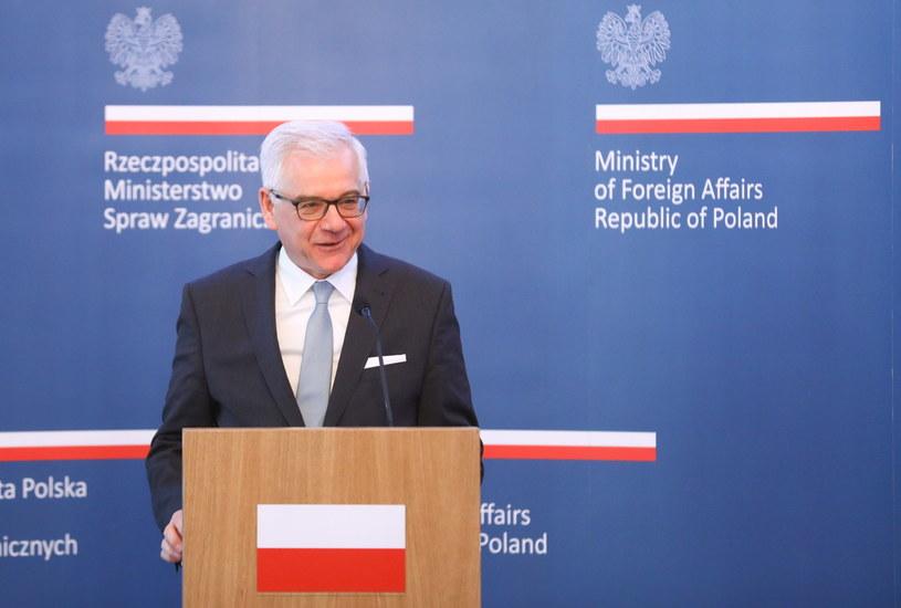 Minister spraw zagranicznych Jacek Czaputowicz /Rafal Guz /PAP