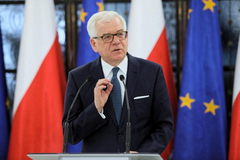 Minister spraw zagranicznych Jacek Czaputowicz /Leszek Szymański /PAP