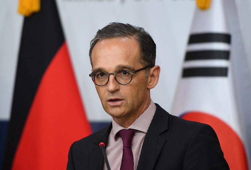 Minister spraw zagranicznych Niemiec Heiko Maas /AFP