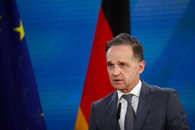 Minister spraw zagranicznych Niemiec - Heiko Maas /Markus Schreiber /PAP/DPA