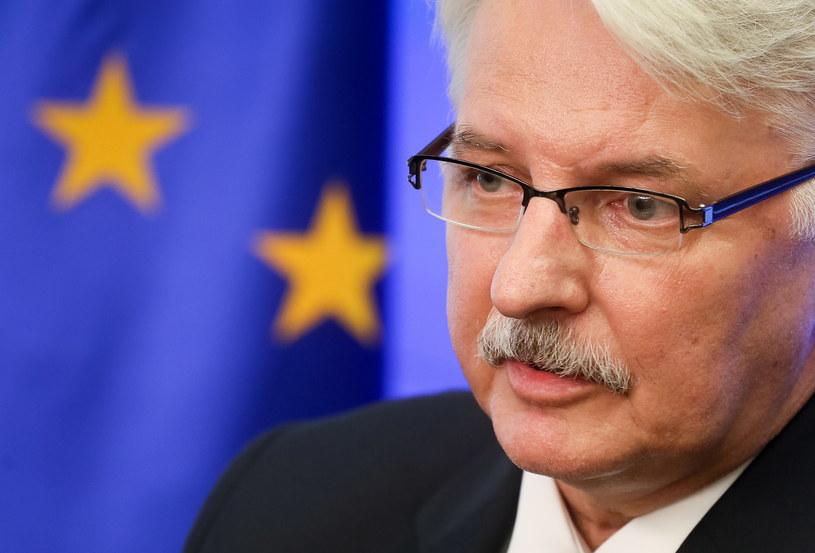 Minister spraw zagranicznych Polski Witold Waszczykowski /Paweł Supernak /PAP