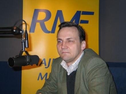 Minister spraw zagranicznych Radosław Sikorski /RMF