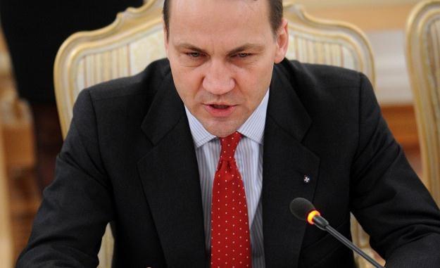 Minister spraw zagranicznych Radosław Sikorski /AFP