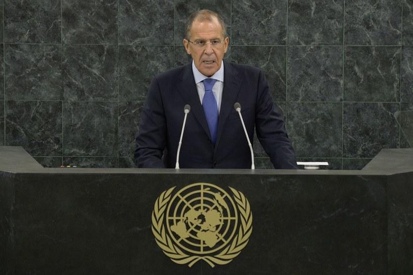 Minister spraw zagranicznych Rosji Siergiej Ławrow. /AFP