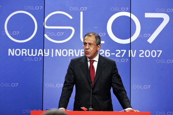 Minister spraw zagranicznych Rosji Siergiej Ławrow /HEIKO JUNGE /AFP