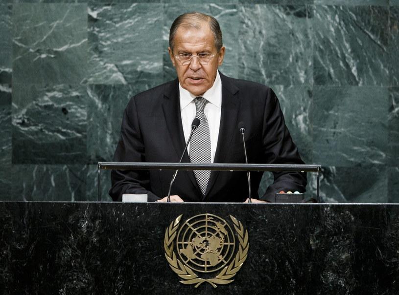 Minister spraw zagranicznych Rosji Siergiej Ławrow /PAP/EPA