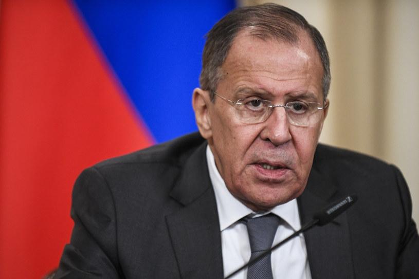 Minister spraw zagranicznych Rosji Siergiej Ławrow /ALEXANDER NEMENOV /AFP